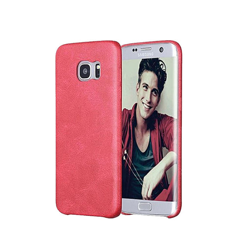 Leather Cover Red for S6 Edge, S6 Edge +.jpg