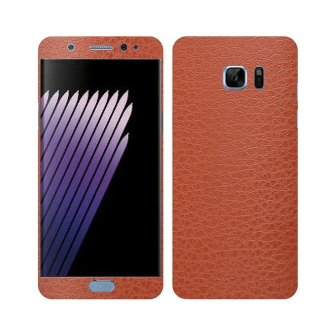 Samsung Galaxy Note 7 Leather Texture Mobile Skin -