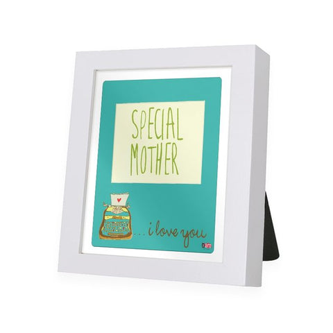 Special Mother White Frame - IAM-WF11
