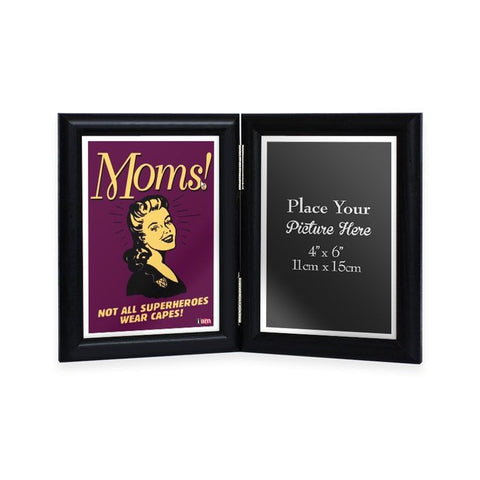 Superhero Mom Double Sided Frame - IAM-DF10