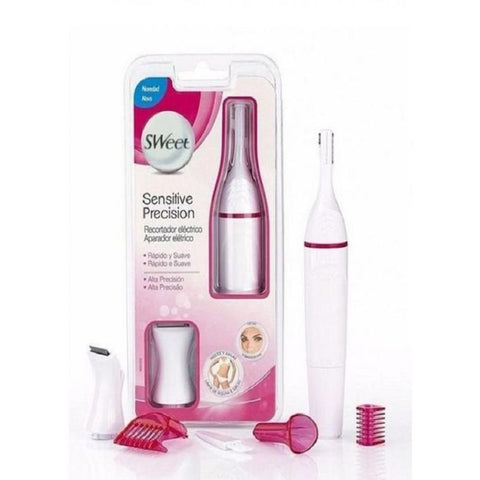 Sweet Sensitive Precision Hair Remover - White & Pink