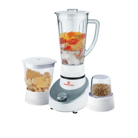 Westpoint 3-in-1 Blender & Dry and Wet Mill - WF-303 - White