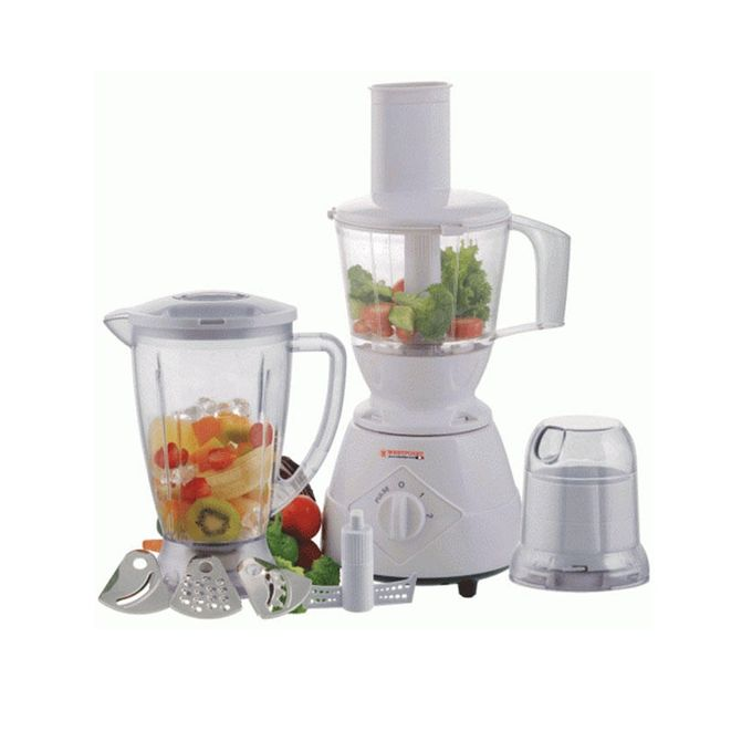 Westpoint 5-in-1 - Food Processor - WF-9280 - White