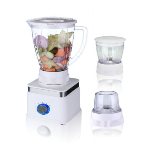 Westpoint Official Deluxe Blender & Grinder 3 in 1 - WF-305 - White