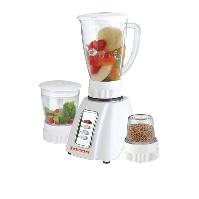Westpoint Official WF-301 - Blender - 3 in 1 - White