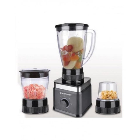 Westpoint Official WF-306 - 3 in 1 Deluxe Blender & Grinder - Black