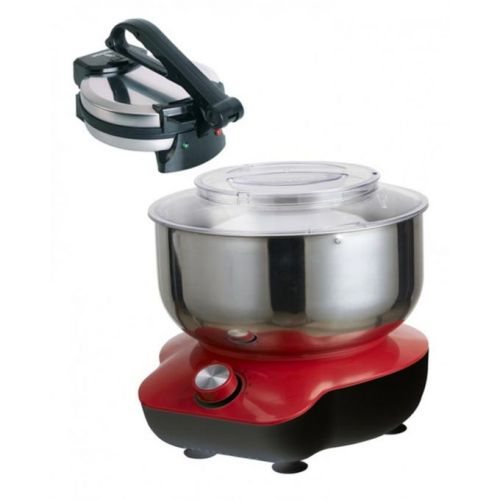 Westpoint Pack Of 2 - WF-3615 Deluxe Dough Mixer & WF-6513 Deluxe Roti Maker