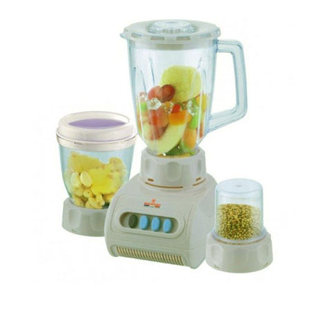 Westpoint Pack of 3 - Blender Dry & Chopper Mill - WF-9492 - Off White