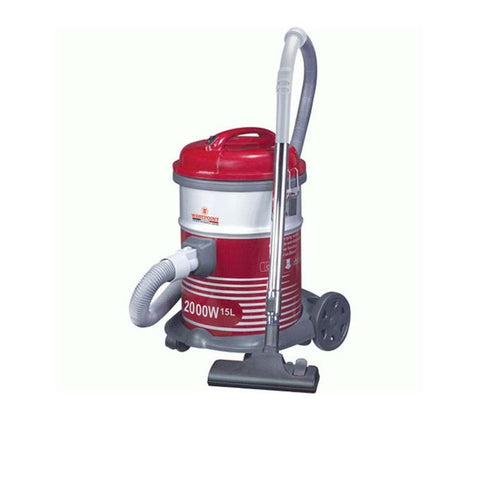 Westpoint WF-103 - Drum Type Vacuum Cleaner With Blower - 2000 Watts - Red