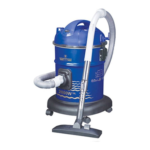 Westpoint WF-105 - Drum Type Vacuum Cleaner With Blower - 2000 Watts - Blue