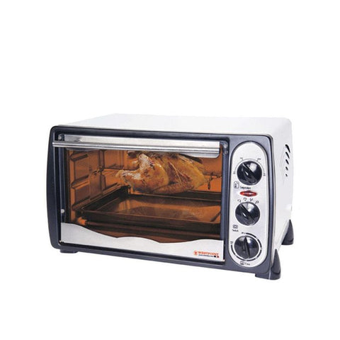 Westpoint WF-1800R - 18 LTR - Toaster Oven with Rotisserie - Grey & White