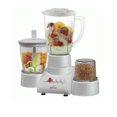 Westpoint WF-312 - Blender Dry & Chopper Mill - 3 in 1 - White