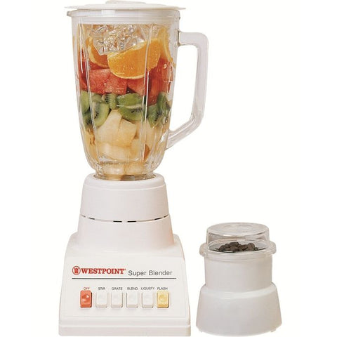 Westpoint WF-328 - Juicer & Blender Dry Mill - 2 in 1 - White