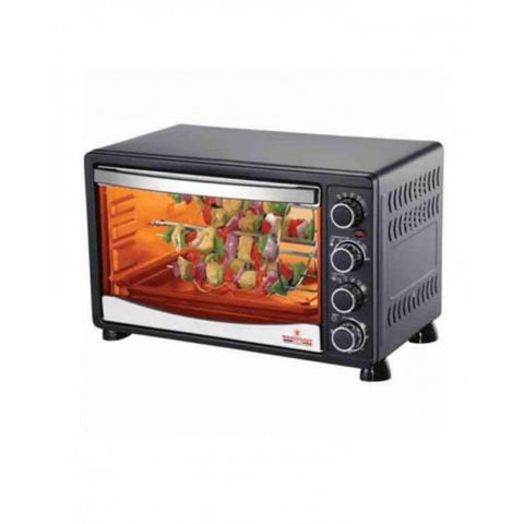 Westpoint WF-4500 RKC - Convection Rotisserie Oven With Kebab Toaster Grill - 1800 Watts - Black
