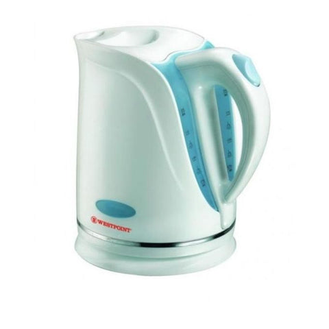 Westpoint WF-578 - Deluxe Cordless Kettle - White & Blue