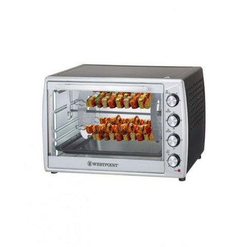 Westpoint WF-6300 RKC - Convection Rotisserie Oven With Kebab Grill - 20 Liter - Black