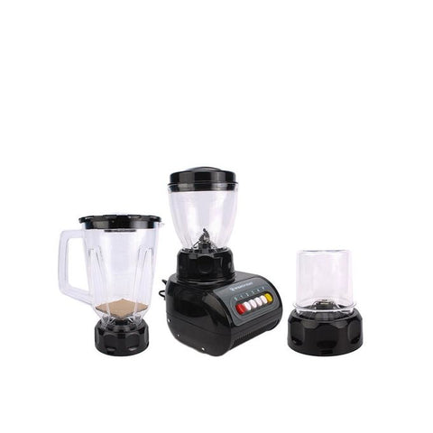 Westpoint WF-9491 - Blender, Dry & Chopper Mill - 3 in 1 - Black