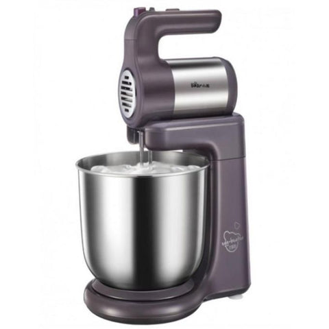 Westpoint WF-9504 - Deluxe Hand Mixer With Stand Bowl - 300 Watts - Silver