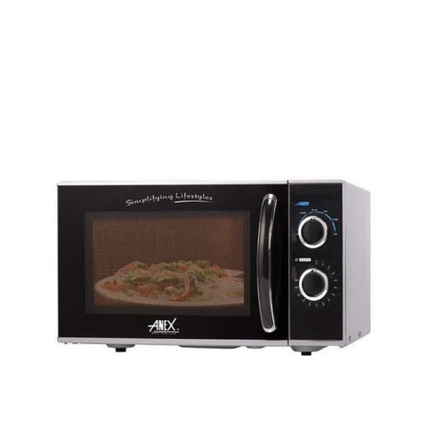 Anex AG-9028 - Microwave Oven - Grey and Black