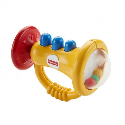 Fisher Price Teethe 'n Rattle Trumpet
