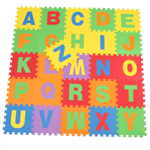 ABC Alphabet Foam Floor Puzzle Mat