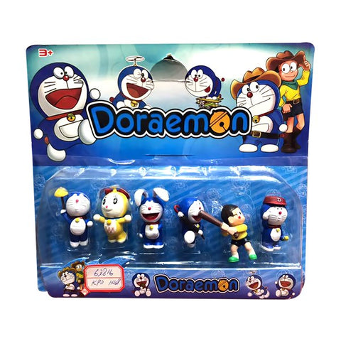 Doremon 6 PCS Figure Set for Kids