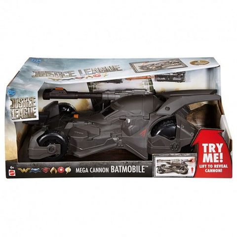 Grey Mega Batmobile Vehicle Toy