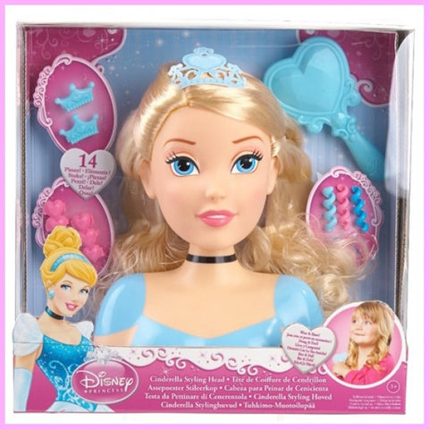 Disney Original Cinderella Styling Head