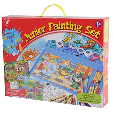 PlayGo JUNIOR PAINTING SET (POSTER PAINT)