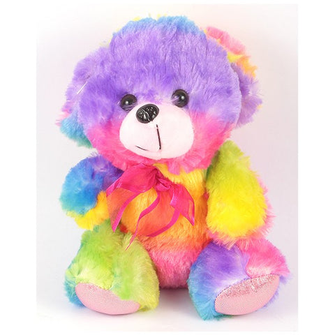 Multi-Colour Stuff Teddy Bear