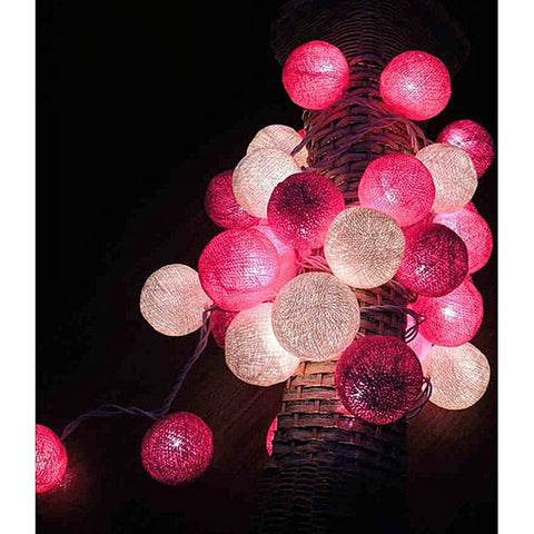 Handcrafted Fairy Light Bulbs (Pack of 15 balls)