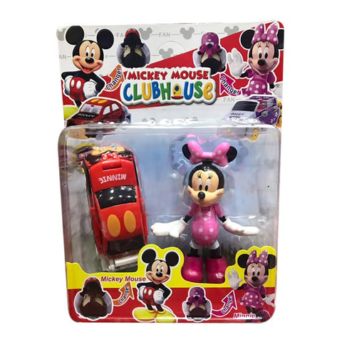Micky Mouse Clubhouse Minnie With Car for Kids