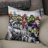 Marvel And DC Superheroes Cushion Pillow
