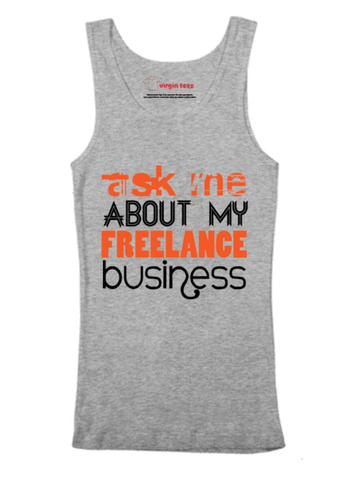 Ask Me About Business Tank Top