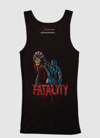 Black - Fatality Tank Top