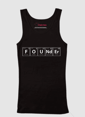 Black- Founder Tank Top