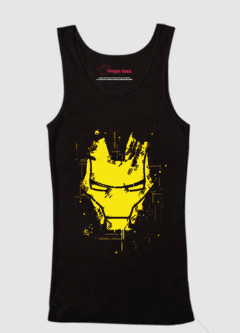 Iron Man Mask Tank Top