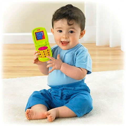 Growing Baby Fun Sounds Flip Phone