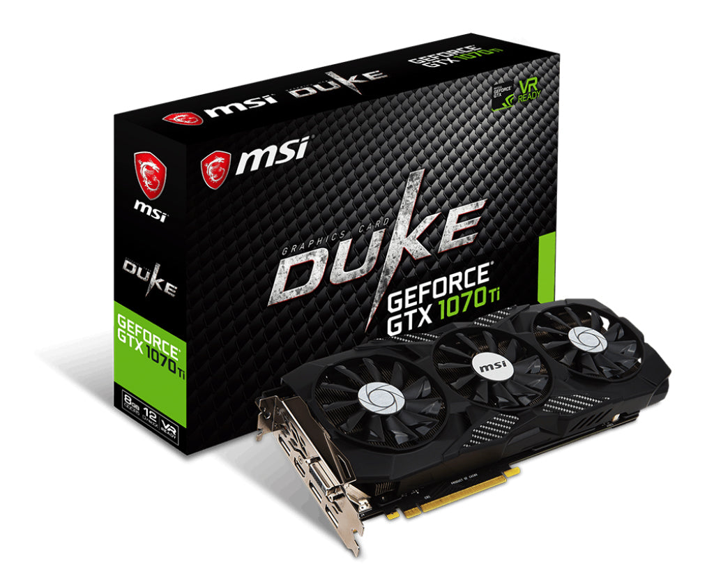MSI GAMING GeForce GTX 1070 Ti DUKE 8GB