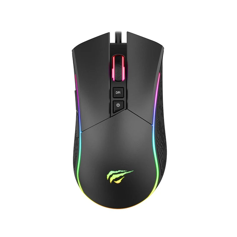HAVIT MS1001A RGB backlit gaming mouse