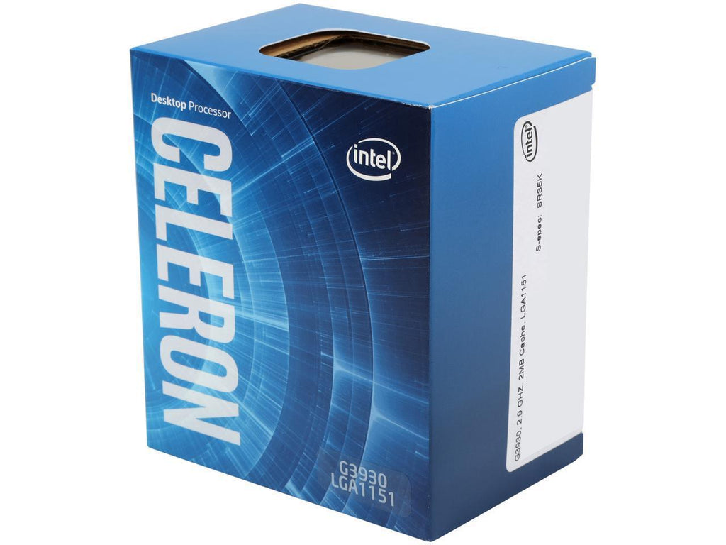 Intel Celeron G3930 2.9 GHz 7th Gen Dual-Core LGA 1151 Processor