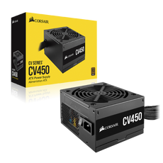 CV Series™ CV450 450 Watt 80 Plus® Bronze Certified PSU