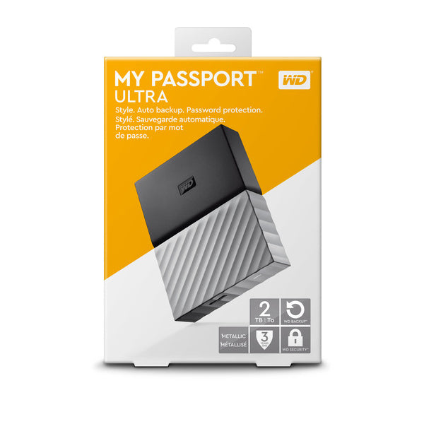 WD 2TB My Passport USB 3.0 External Hard Drive
