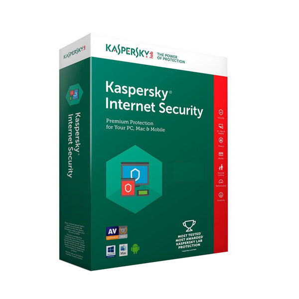 Kaspersky Anti-Virus 1 Device for 2-Year Protection - 2018 Edition