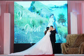 LED Wall Projects WEDDING