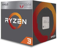 AMD Ryzen™ 3 2200G with Radeon™ Vega 8 Graphics Socket AM4