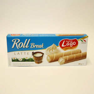 Gastone Lago - Milk Cream Filled Wafer Rolls