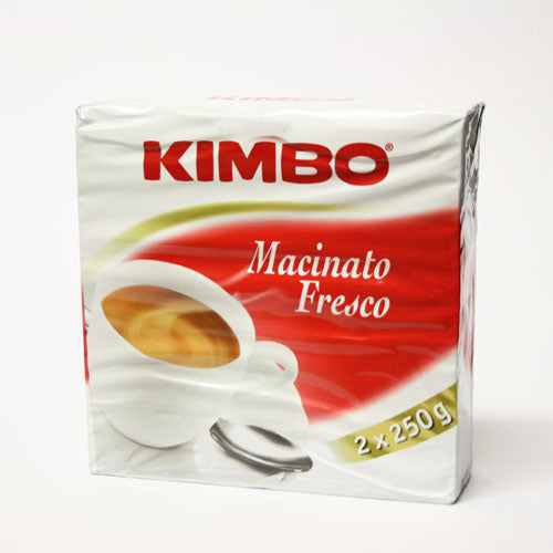 Kimbo - Macinato Fresco Twin Pack