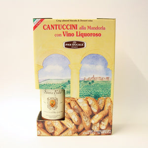 Pan Ducale - Almond Cantuccini with Dessert Wine