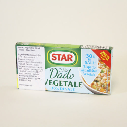 Star - Vegetable Stock Cubes
